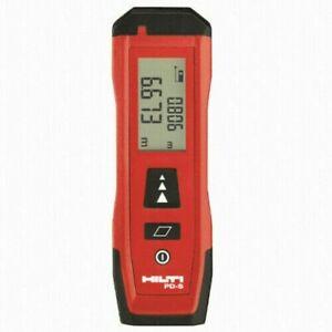 Hilti PD-S Tools Laser Distance Meter 60M Range Measuring Tool Rangefinder