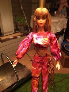 1971 Live Action Barbie doll MOD vintage Mattel Titan