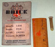 1938-1947 Buick Special Century Roadmaster NOS oil line screen 1302361