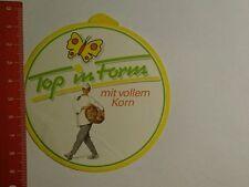 Aufkleber/Sticker: Top in Form mit vollem Korn (30101664)