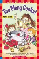 Too Many Cooks (level 3) (Hello Reader, Math), Buckless, Andrea, Good Condition,