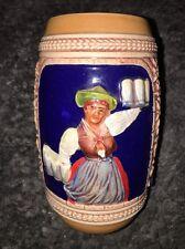 "German Beer Stein Mug mugs 6.25"" tall HANDGEMALT Number 15"