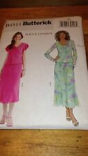 Butterick B4511 Maggy London Misses Petite Top and Skirt Pattern-8,10,12,14 #463