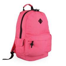 Mochila Bolsa de hombre Rosa Grande Para Damas Niñas Escolar Gimnasio de viaje bolsa de deportes