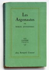 LES ARGONAUTES, Marcel Jouhandeau 1959, edition originale signée Littérature