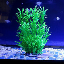 Aquarium Fish TankArtificial Plastic Plant Tall Water Grass Decorations