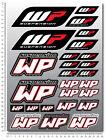 WP White Power shock fork gabel aufkleber set blatt 26 sticker KTM Duke exc