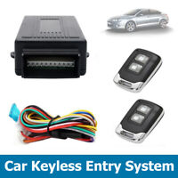 Universal Car Central Lock Remote Control Keyless Locking System Safety Kit UK