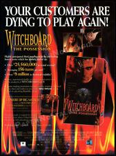 WITCHBOARD 3: The Possession__Orig. 1995 Trade print AD / promo__DAVID NERMAN