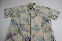 Cooke Street Honolulu retro Pocket Floral Camp Shirt Medium M