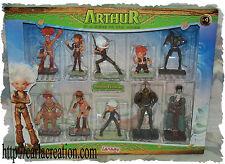 Exclusive 10 Figurines Collector De 10 à 5 cm Arthur Et Les Minimoys Lansay La G