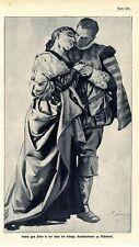 Peter Janssen Studie zum Fries in der Aula der kgl. Kunstakademie Düsseldorf1908