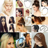 Fashion Womens Head Chain Jewelry Elegant Headband Head Piece Hair band Gift New