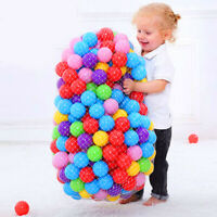 100Pcs Balls Set Baby Plastic Colors Balls kids Gift Water Pool Wave Ball Fun