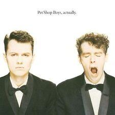 Actually by Pet Shop Boys (CD, Feb-2009, EMI Music Distribution)