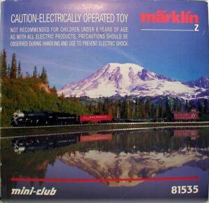 Z Scale Marklin Mini-Club 81535 Northern Pacific Freight Set NIB