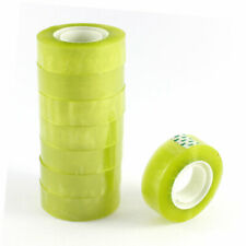 Home Office   Stationery Transparent Adhesive Tape Roll 17mmx70M 8 Pcs