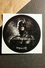 "THE DARK KNIGHT RISES BATMAN SUIT PHTO MOVIE SMALL 1.5"" GETGLUE GET GLUE STICKER"