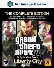 Grand Theft Auto Iv Gta 4 Complete Edition Pc Region Free Global Steam Key