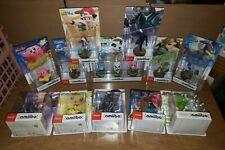 Brand New Amiibo Figures (Individual) - Legend of Zelda, Pokemon + more