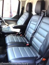 IVECO DAILY IV (2006-) VAN SEAT COVERS GREY QUILTED  MADE TO MEASURE- A120C