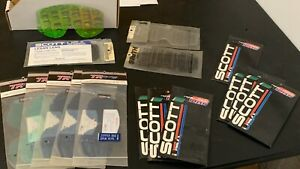 VARIETY PACK 16 REPLACE GOGGLE LENS SCOTT SMITH & TR RACING BRAND (0195)NUAKSF