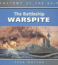 WW2 British RN HMS Anatomy of the Ship: The Battleship Warspite Reference Book