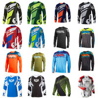 Long Sleeve Men Downhill Jersey Mens DH Racing Jersey motocross bike clothing