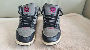 Girls Nike Air Jordan 1 Flight 4 Prem GG High Top Trainers Sneakers  SIZE 1.5