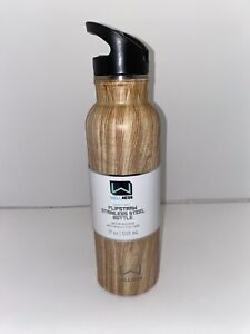 Wellness Double-Wall Stainless Steel 17-oz. Flip-Straw Water Bottle NEW various