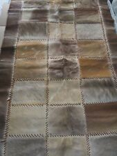 AFRICAN SAFARI  EXOTIC ANIMAL SKIN RUG /TABLE COVER/WALL HANGING