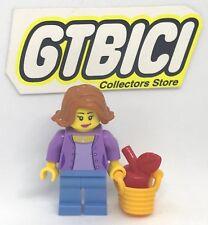 LEGO CITY  MINIFIGURA   `` WOMAN ´´   Ref 60134  NUEVA  100X100 LEGO