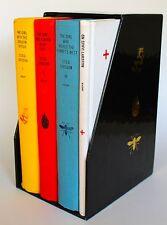 Stieg Larsson Millennium Trilogy (Knopf, Hardcover) with Slipcase Dragon Tattoo