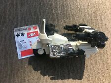 Vtg Transformers GROOVE G1 80s motorcycle police Defensor Protectobot toy