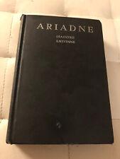 Isadore Lhevinne /  Ariadne 1928