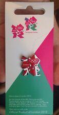 Official London 2012 Union Jack Logo Olympic Games Enamel Trading Pin Badge