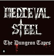MEDIEVAL STEEL - The Dungeon Tapes CD 2021  NEW/Sealed Re-Release (Skol Records)