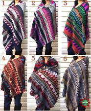 Southwest Soft Warm Blanket Women Shawl Wrap Stole Scarves  For Winter USA