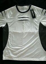 HEAD Mens Premium Crew Shirt - Size XX Large White and Grey
