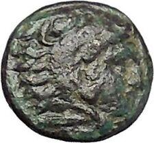 PERGAMON in MYSIA 310BC Hecules Athena Authentic Ancient Greek Coin i49497