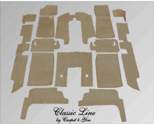 Graybeig velours carpet kit for Jaguar XJ6 & XJ12 Serie 2 and 3 Four Door Saloon