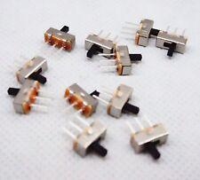 5x SS-12D00 SS12D00 Toggle Switch on-off mini 1 Way 2 Band Slide PCB Mount TGL01