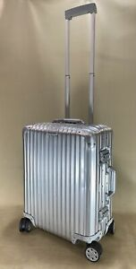 "Rimowa Topas 22"" Cabin Multiwheel Aluminum Spinner Carry On Suitcase 92356004"