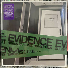 EVIDENCE - GREEN TAPE INSTRUMENTALS (VINYL LP)  2013!!  RARE!!  DILATED PEOPLES