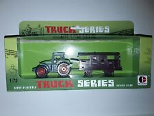 Tracteur avec remorque Truck Series NEUF green zone 1:72 donbful