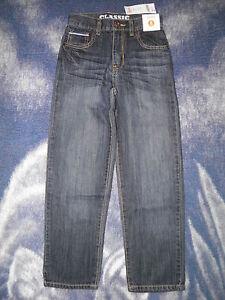 "GYMBOREE ""Aviator School"" Classic Dark Blue Jeans Size 8 Slim~ NEW!"