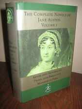 COMPLETE NOVELS V1 Jane Austen MODERN LIBRARY 1st Edition Later Printing FICTION