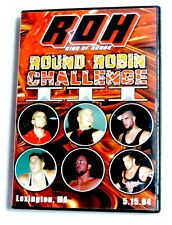 ROUND ROBIN CHALLENGE III - ROH OOP DVD Ring of Honor CM PUNK Colt Cabana