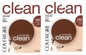 COVERGIRL Clean Foundation Powder 120 Creamy Natural 2 x 11g