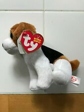 Ty Beanie Baby Banjo the Beagle Big Eyes 10-25-11 Plush Dog Collector